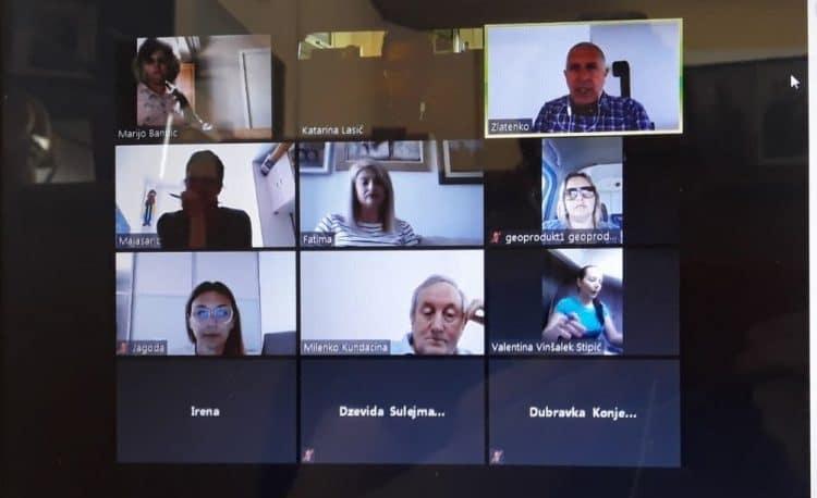 Održan online sastanak sa studentima doktorskih studija