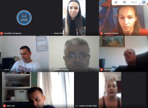 Održan redovni online sastanak sa studentima